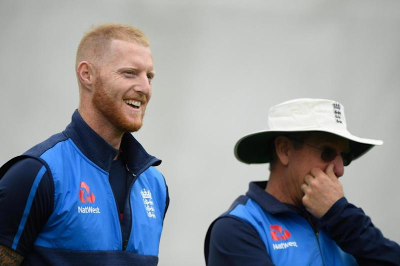 Waiting game: Stokes in training this week (Getty Images)