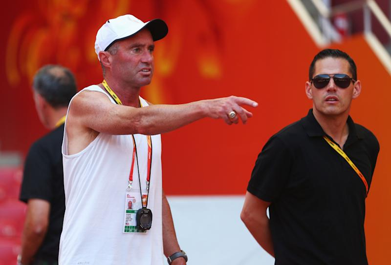Alberto Salazar has been accused by several former Oregon Project athletes of creating a toxic culture and being obsessed with runners' weight. (Michael Steele/Getty Images)