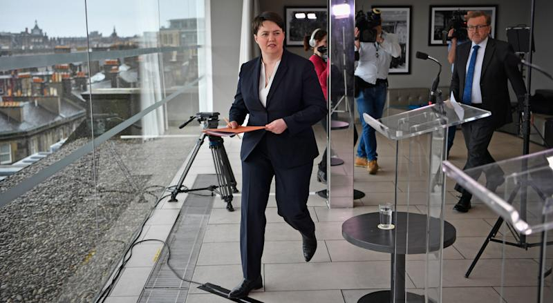 Ruth Davidson - Credit: GETTY IMAGES