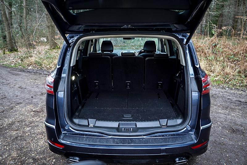 There's loads of boot space to use in the S-Max