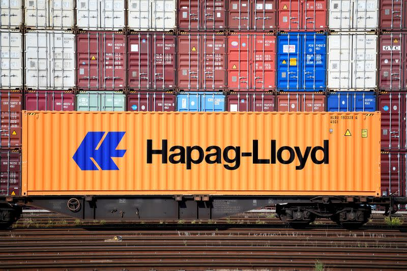 Container line Hapag-Lloyd almost doubles first-half profit, keeps 2020 outlook