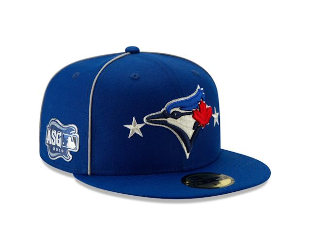 For the sixth consecutive summer, New Era, in conjunction with MLB, has created a new All-Star cap design theme, representing every Club, to be worn in the All-Star Game presented by Mastercard. This year's caps are team colored and feature two silver stars, one on either side of the team logo on the cap fronts.