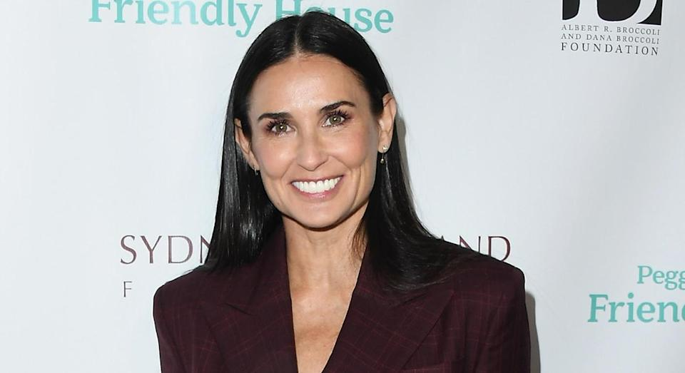 Demi Moore admitted to feelings of inadequacy at the start of her career. [Photo: Getty]