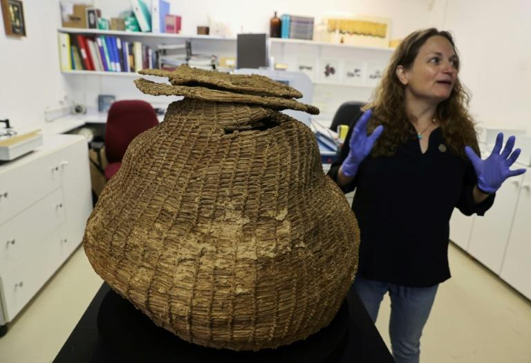 The finds include a basket dated to some 10,500 years old
