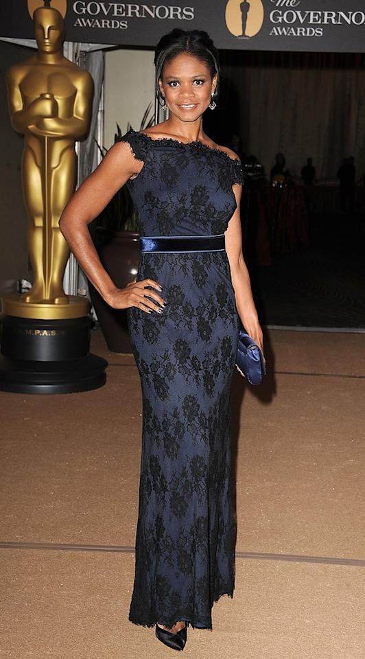 "<a href=""http://movies.yahoo.com/movie/contributor/1800020555"">Kimberly Elise</a> attends the 2nd Annual AMPAS Governors Awards in Los Angeles on November 13, 2010."