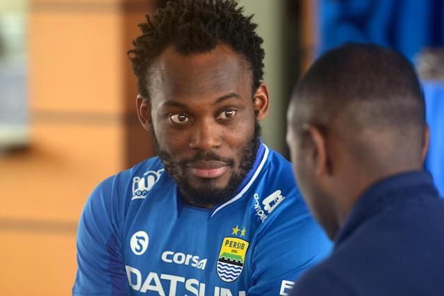 Ventures | Michael Essien's wife has bought Como: AFP/Getty Images