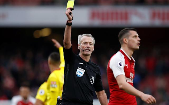"""British football will be without a refereeing representative at the World Cup this summer for the first time in 80 years. Fifa has formally selected its 36 officials for the tournament in Russia but, with Mark Clattenburg having been the only Briton on the long list that was collated two years ago, there was no prospect of a representative from England, Scotland, Wales or Northern Ireland. Clattenburg, who refereed the Euro 2016 final between Portugal and France, left his job with the Premier League last year to become Saudi Arabia's new head of referees and so forfeited his place. The Football Association had tried to replace him but the request was rejected and there are also no British officials among the assistant referees, with the new video assistant referees (VAR) to be chosen from the pool of officials at the tournament. There has been a British official at every World Cup since the Second World War, with Howard Webb refereeing the 2010 final and also refereeing matches in Brazil in 2014. Mark Clattenburg refereed at Euro 2016 Credit: GETTY IMAGES The quality of elite refereeing in England has been fiercely criticised this season, with Arsene Wenger adamant that there has been no improvement since they became professional. """"We cannot say a word against it because they're untouchable - that is the truth,"""" said Wenger. Keith Hackett, the former referees' chief, told The Telegraph that the absence of a British World Cup referee was """"symptomatic of an ageing group of referees and a drop in the overall level"""". He said: """"We have lost people like Howard Webb and Mark Clattenburg. They are difficult to replace. I also think the existing select group of referees are not challenged enough, even when they are struggling to maintain form. It is not that there is a shortage of referees but a road block and I would like to see more people who are doing well at the Select Group 2 level being given a chance."""""""