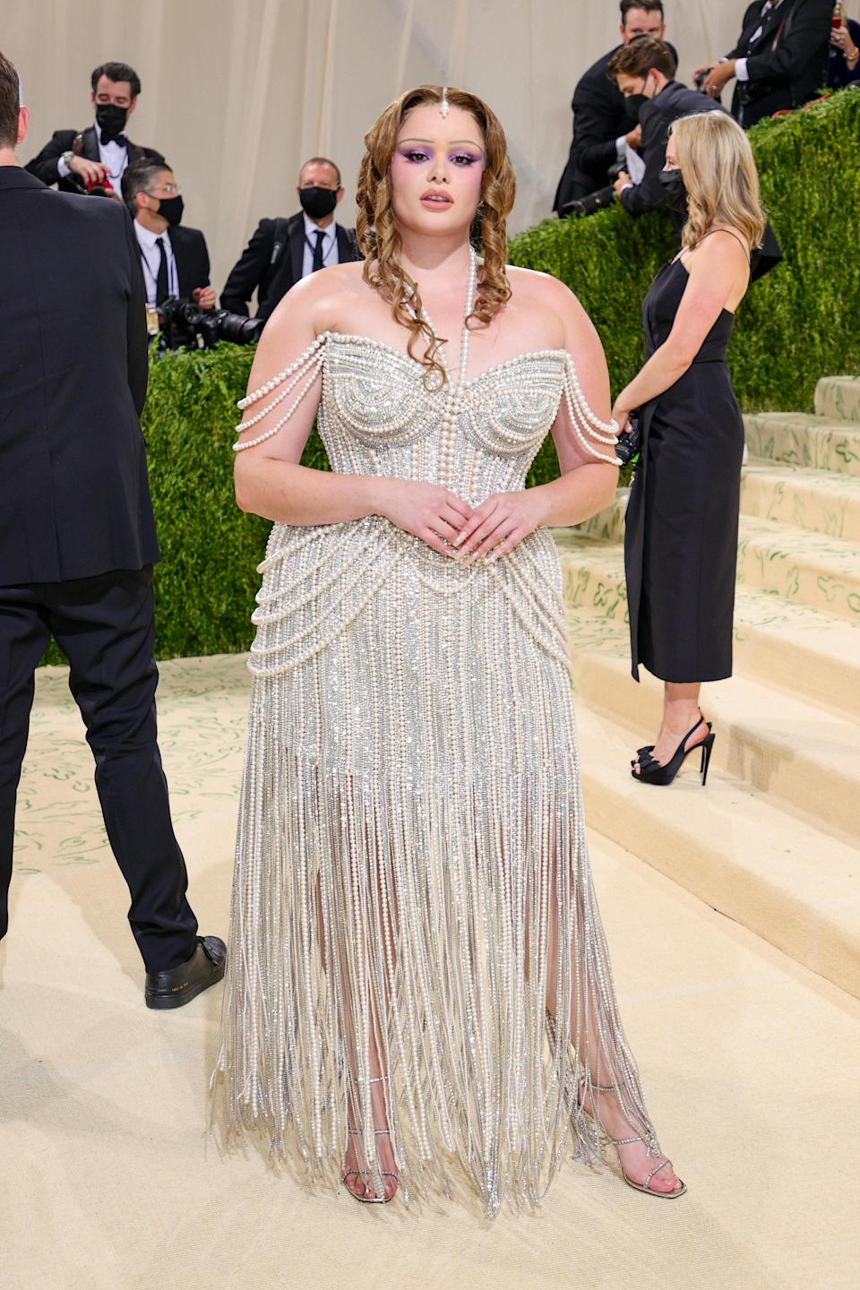 """<h1 class=""""title"""">The 2021 Met Gala Celebrating In America: A Lexicon Of Fashion - Arrivals</h1><cite class=""""credit"""">Theo Wargo/Getty Images</cite>"""