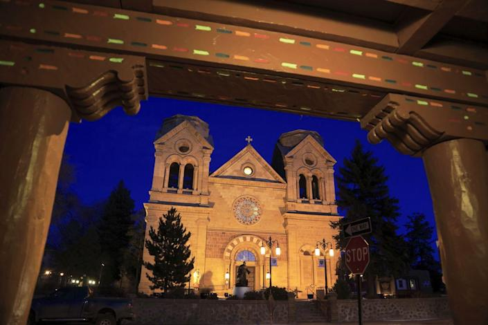 """<p><strong>Established in:</strong> 1610</p><p>The city of Santa Fe was <a href=""""https://www.britannica.com/place/Santa-Fe-New-Mexico"""" rel=""""nofollow noopener"""" target=""""_blank"""" data-ylk=""""slk:founded"""" class=""""link rapid-noclick-resp"""">founded</a> by Don Pedro de Peralta in 1610, and was originally named Villa Real de la Santa Fé de San Drancisco de Asis (translated as """"Royal City of the Holy Faith of St. Francis of Assisi""""). In the 18th century, Santa Fe was the headquarters of a Spanish colonial frontier province. </p>"""