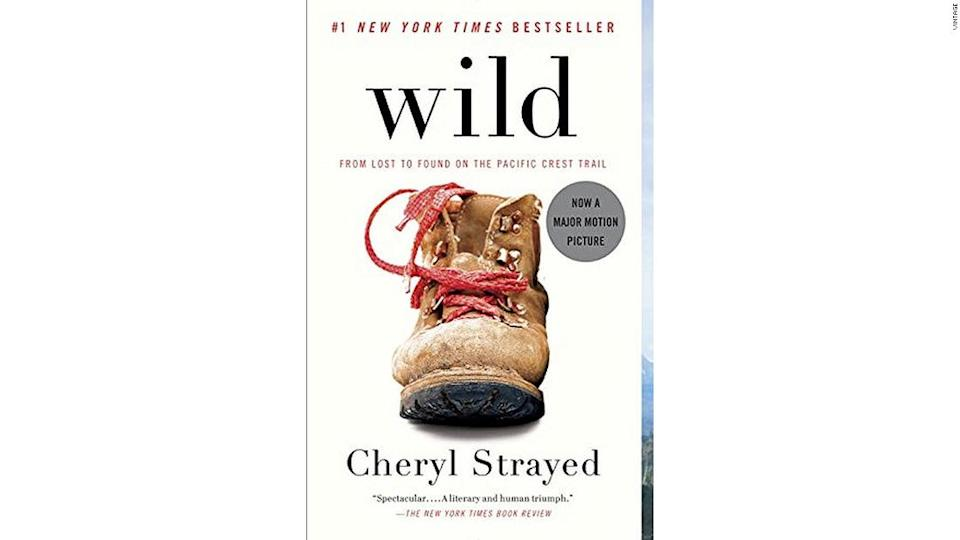 """<p>Cheryl Strayed's """"Wild"""" is a bestseller which had a big-screen adaptation in 2014. </p><div class=""""cnn--image__credit""""><em><small>Credit: Vintage / Vintage</small></em></div>"""