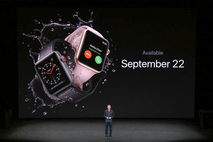 apple watch series 3 news release date 2