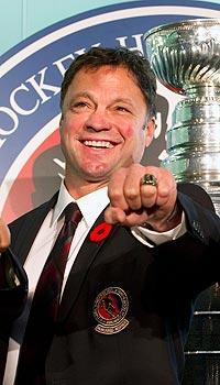 Dino Ciccarelli was among five inductees Monday to the Hockey Hall of Fame