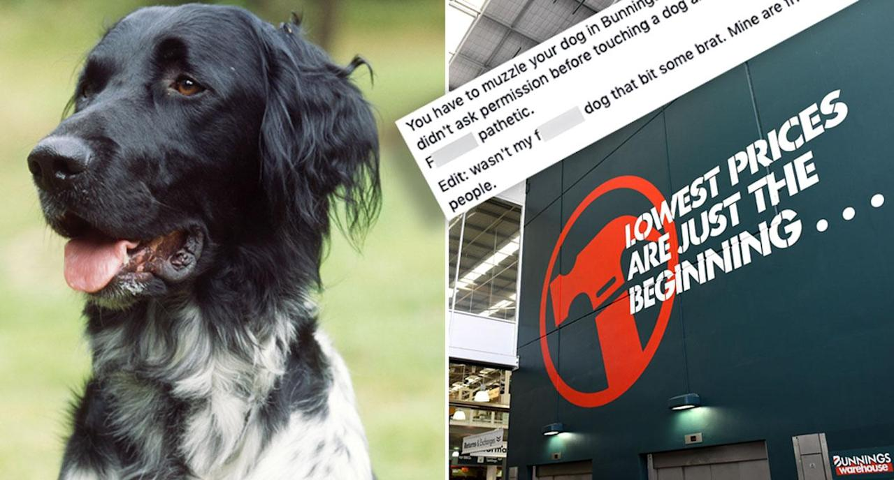 Dog owner furious at Bunnings policy banning her dog