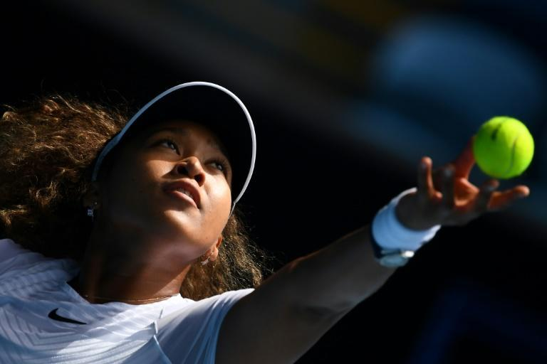 Naomi Osaka was slow to get going before beating Katie Boulter