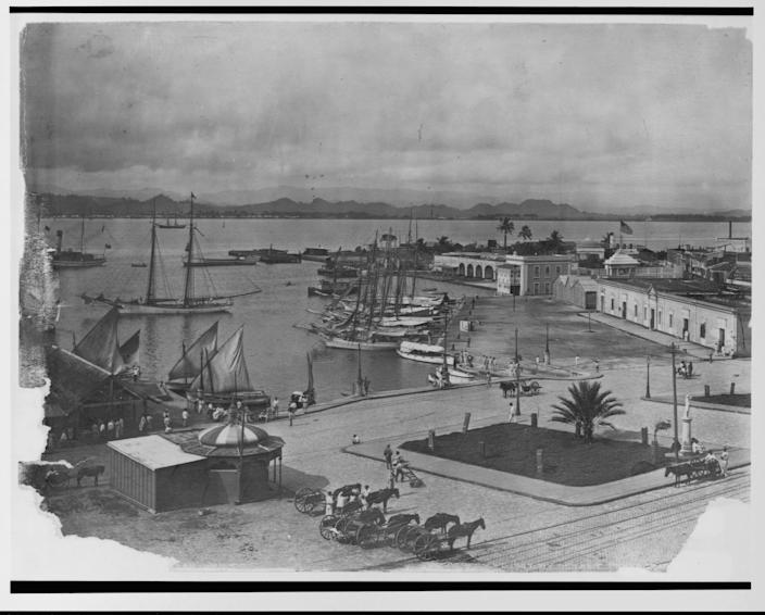 San Juan, Puerto Rico, and vicinity, ca. 1901-1903.