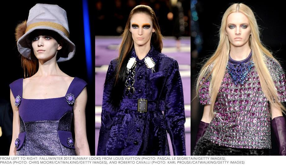 Deep Purple: Fall's Beauty Color of the Moment