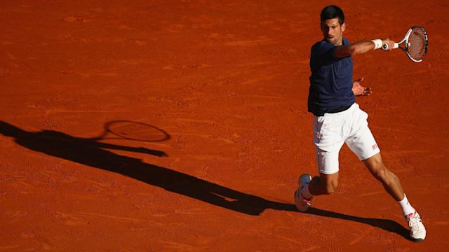 Pablo Carreno Busta pushed Novak Djokovic all the way on a day of shocks at the Monte-Carlo Masters.