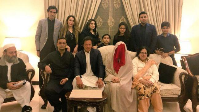 Pakistan Tehreek-e-Insaf (PTI) party chief and former cricketer Imran Khan tied the knot for the third time with his spiritual guide Bushra Maneka in February.