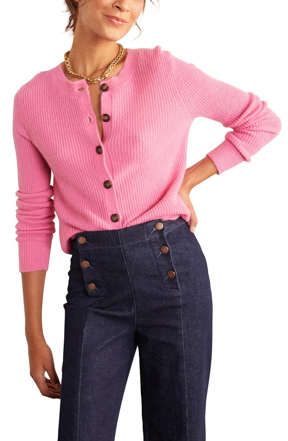 <p>This <span>Boden Rosslyn Fluffy Cardigan</span> ($130) oozes so much confidence.</p>