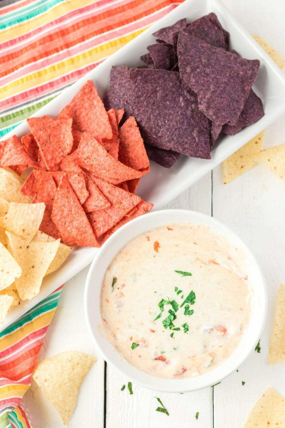 "<p>Queso is delicious no matter what color it is.</p><p>Get the recipe from <a href=""https://www.clarkscondensed.com/food/instant-pot/instant-pot-queso-dip-recipe/"" rel=""nofollow noopener"" target=""_blank"" data-ylk=""slk:Clarks Condensed Living"" class=""link rapid-noclick-resp"">Clarks Condensed Living</a>.</p>"
