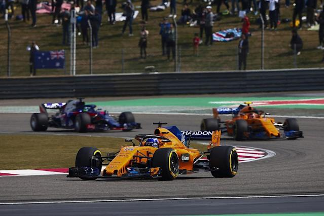 "McLaren driver Fernando Alonso says he ""doesn't care too much"" about the performances and results achieved by his former Formula 1 teams and partners"