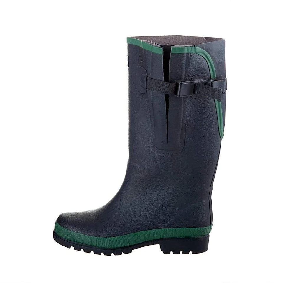 """<br><br><strong>Jileon Rain Boots</strong> Extra Wide Calf Rain Boots, $, available at <a href=""""https://go.skimresources.com/?id=30283X879131&url=https%3A%2F%2Fjileonrainboots.com%2Fcollections%2Fextra-wide-calf-rain-boots%2Fproducts%2Fextra-wide-calf-black-rubber-rain-boots-with-rear-expansion"""" rel=""""nofollow noopener"""" target=""""_blank"""" data-ylk=""""slk:Jileon Rain Boots"""" class=""""link rapid-noclick-resp"""">Jileon Rain Boots</a>"""