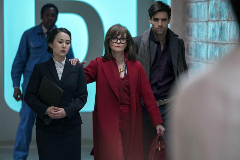 Cast: Oscar-winning actress Sally Field is Greta Mantleray (Michele K. Short / Netflix)