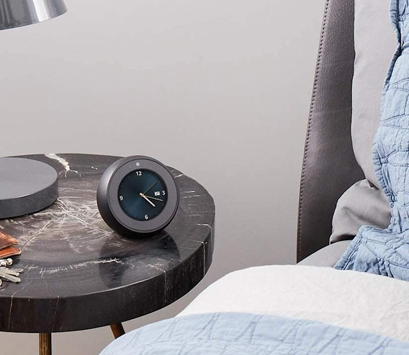 Get the Echo Spot for 31 percent off. (Photo: Amazon)