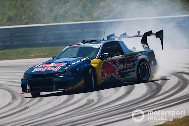 "Demostración de Red Bull Drift Brothers <span class=""copyright"">Zak Mauger / Motorsport Images</span>"