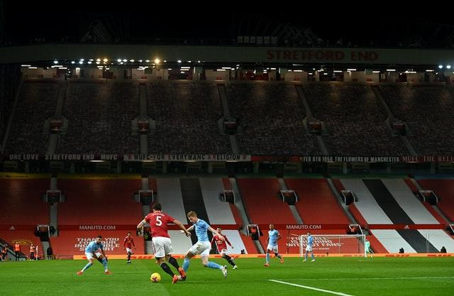 Old Trafford has been empty since March due to Covid-19