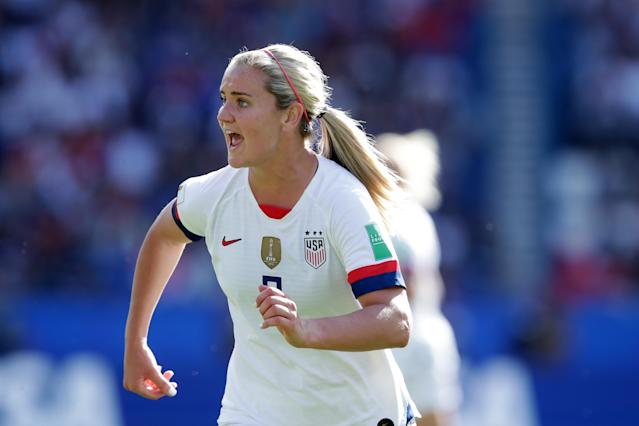 Lindsey Horan is asked to play a different role with the USWNT than in the NWSL, where she was league MVP last season with the Portland Thorns. (Getty)