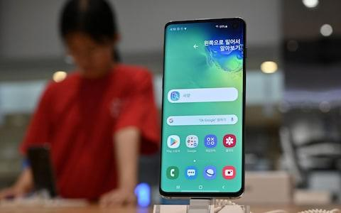 Samsung Galaxy S10 - Credit: Jung Yeon-je/AFP/Getty Images