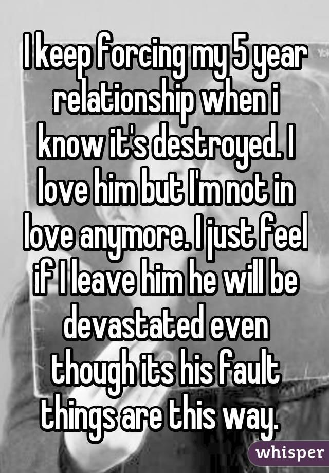 not in love anymore