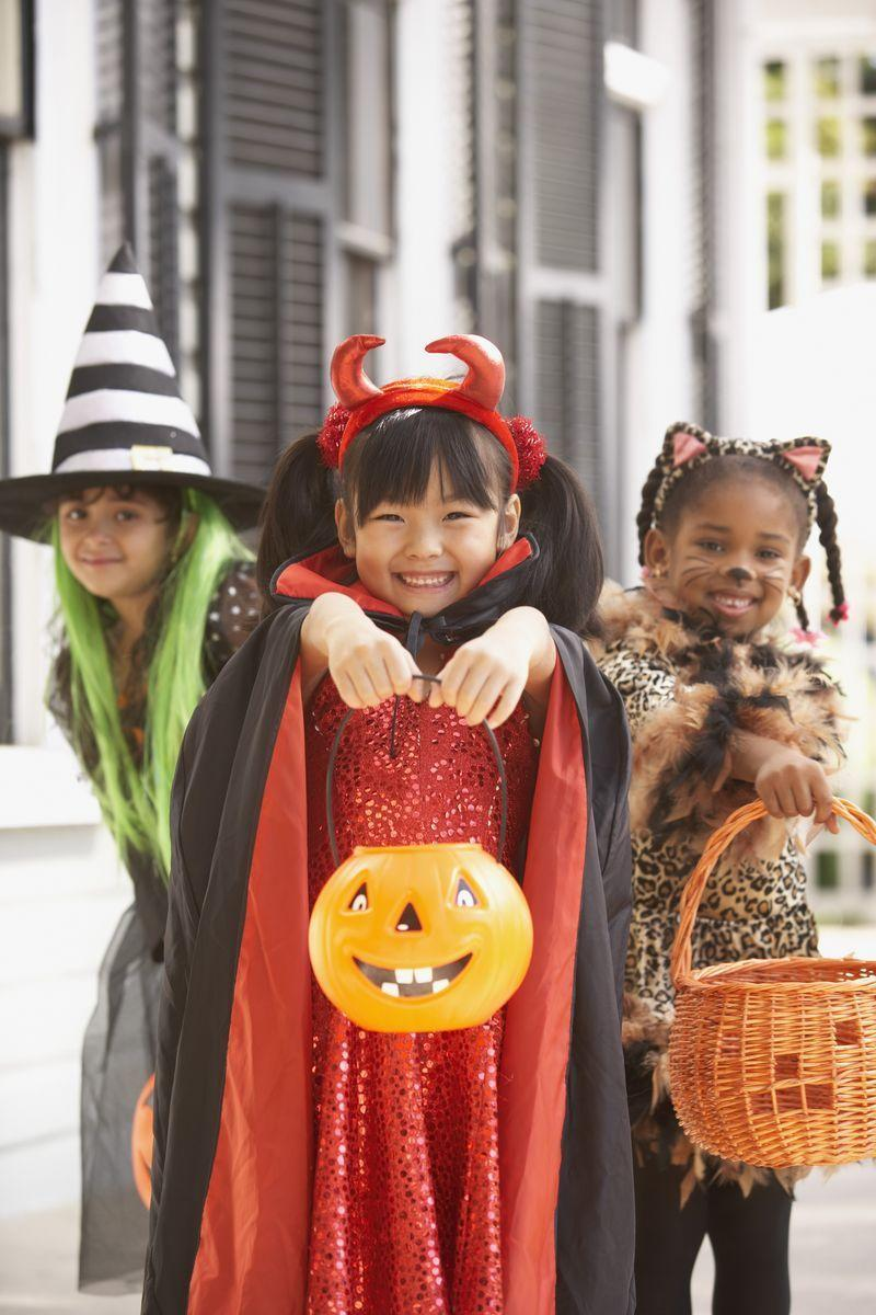 """<p>Answer: In 2017, the U.S. Census Bureau estimated there were <a href=""""https://www.census.gov/newsroom/facts-for-features/2018/halloween.html"""" rel=""""nofollow noopener"""" target=""""_blank"""" data-ylk=""""slk:41 million trick-or-treaters"""" class=""""link rapid-noclick-resp"""">41 million trick-or-treaters</a> ages 5 to 14 in America. According to the National Retail Federation's 2019 report, <a href=""""https://www.womansday.com/home/crafts-projects/how-to/g309/9-devilishly-fun-decorating-projects-110896/"""" rel=""""nofollow noopener"""" target=""""_blank"""" data-ylk=""""slk:Halloween party-goers"""" class=""""link rapid-noclick-resp"""">Halloween party-goers</a> spend an average of $86 each, making the total expected estimate about $8.8 billion <a href=""""https://nrf.com/insights/holiday-and-seasonal-trends/halloween/halloween-data-center"""" rel=""""nofollow noopener"""" target=""""_blank"""" data-ylk=""""slk:on the holiday"""" class=""""link rapid-noclick-resp"""">on the holiday</a> overall.</p>"""