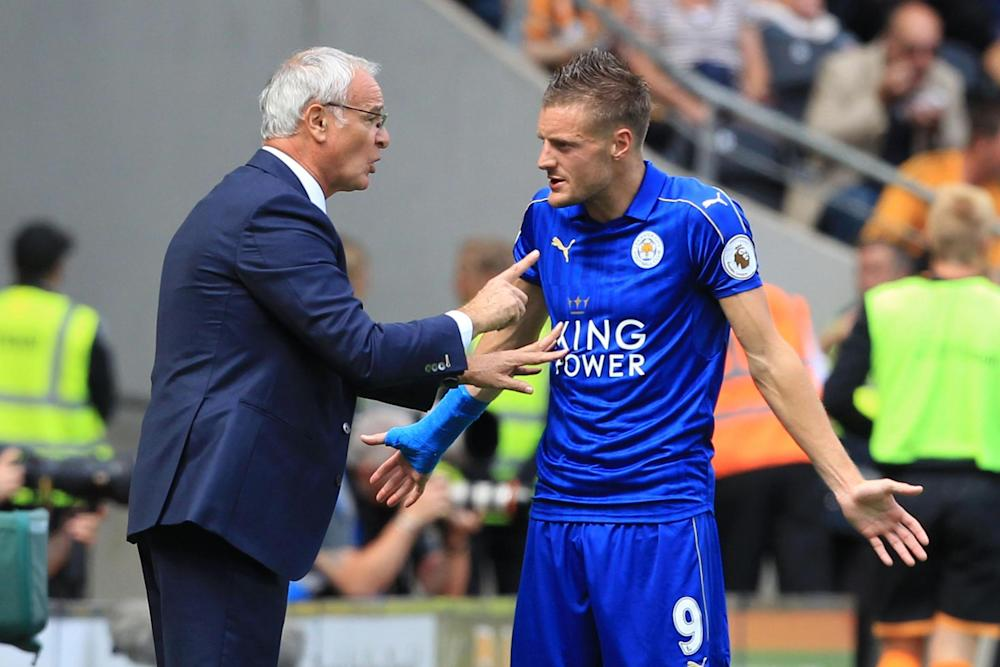 'Death threats': Jamie Vardy says his family have received threats: AFP/Getty Images