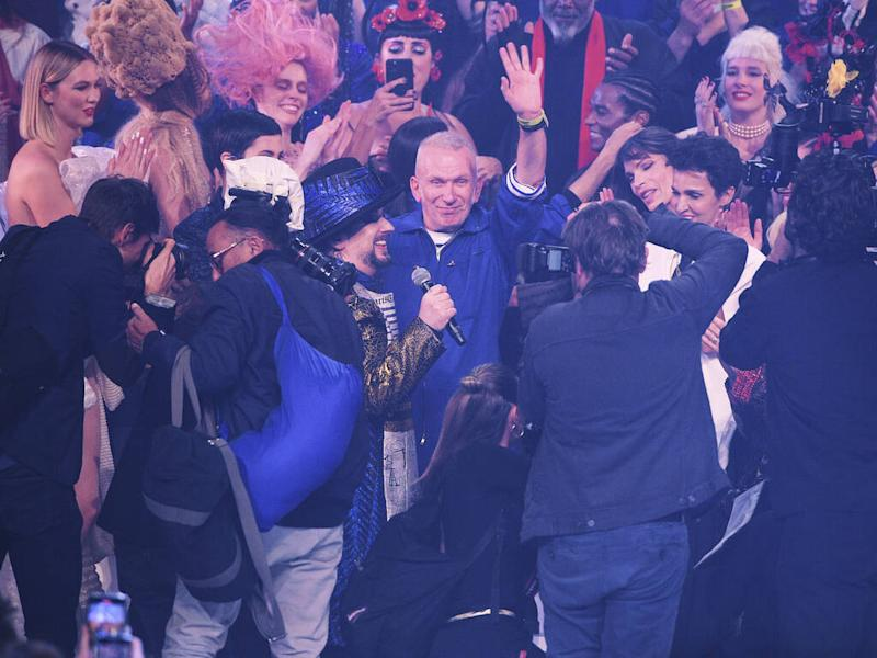 Jean Paul Gaultier takes final bow at star-studded couture show