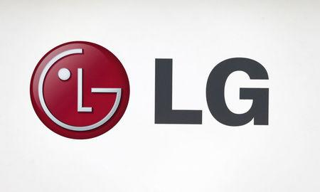 FILE PHOTO - LG Electronics' company logo is seen at a shop in central Seoul, July 23, 2013. REUTERS/Lee Jae-Won/File Picture