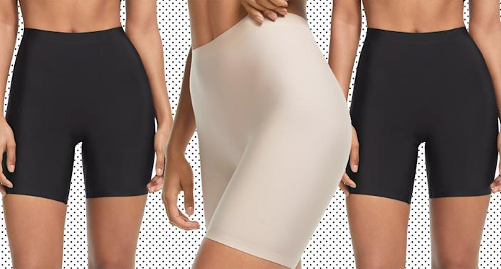 John Lewis' control shorts are perfect for under summer dresses. (Getty Images)