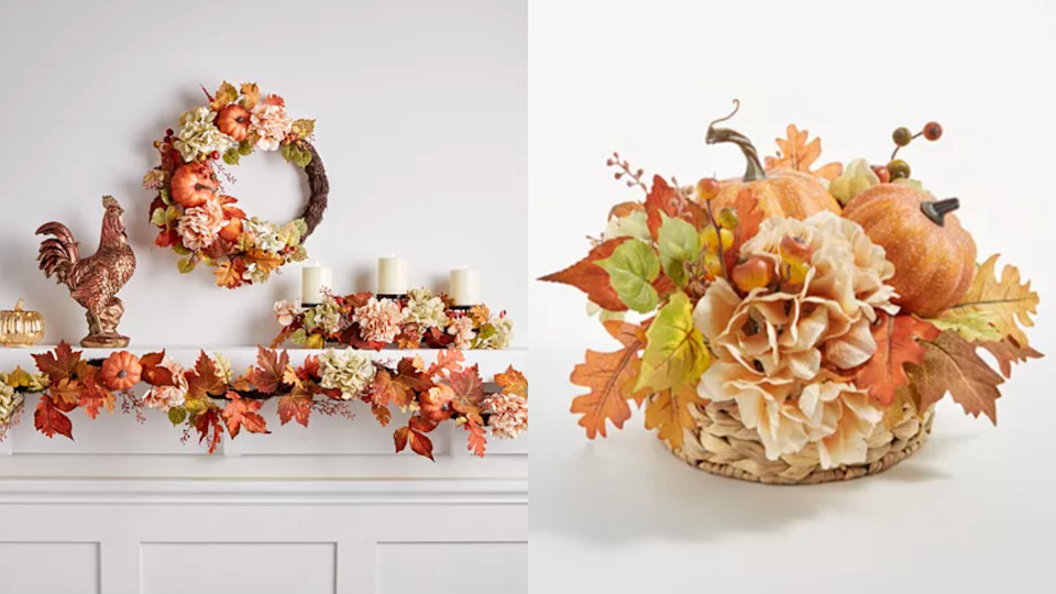 A centerpiece is sure to spruce up the dining room table.