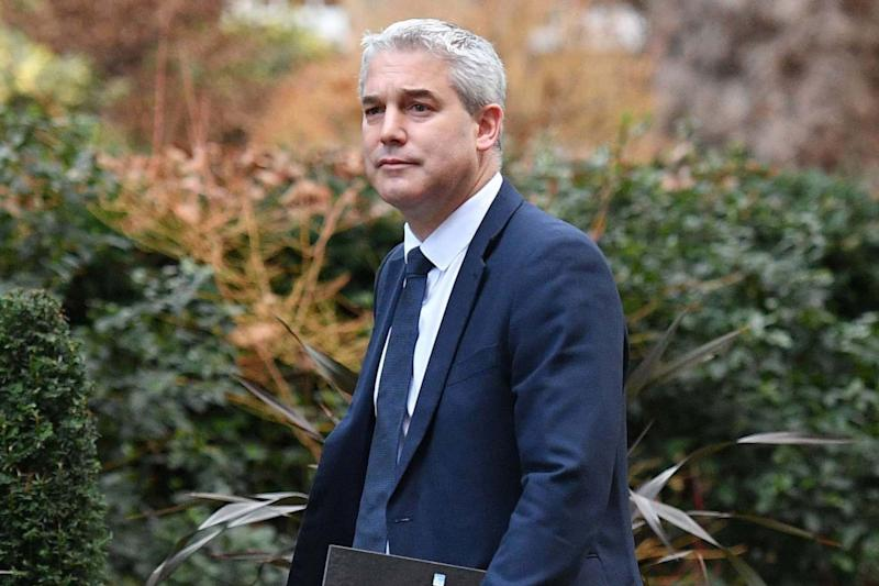 Secretary of State for Exiting the European Union Stephen Barclay: AFP via Getty Images