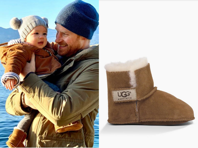 Images via Instagram/SussesRoyal, Ugg.