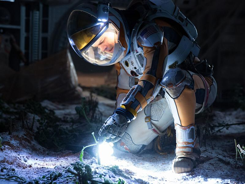 matt damon the martian plants 20th century fox