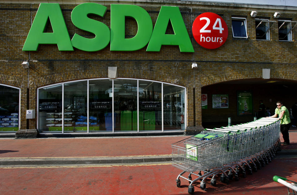 Asda's express delivery service costs £8.50. Photo: Reuters