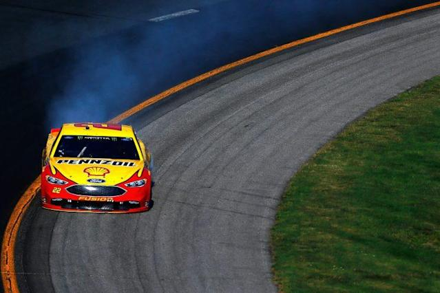 Joey Logano is now 52 points behind Matt Kenseth for the final provisional playoff spot. (Getty)