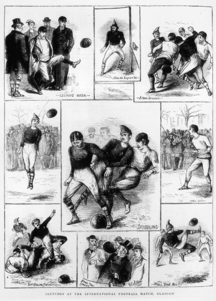 How ye olde Yahoo Sport would have covered ye England v Scotland clash in 1872 – at ye Oval