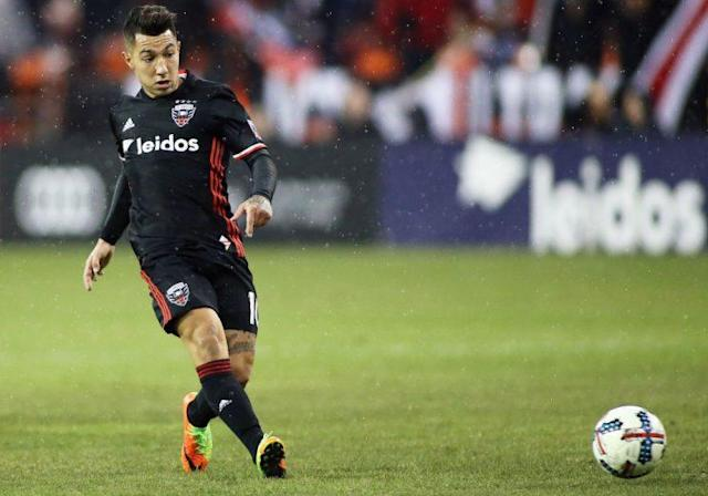"<a class=""link rapid-noclick-resp"" href=""/soccer/players/luciano-acosta"" data-ylk=""slk:Luciano Acosta"">Luciano Acosta</a> dazzled in DC United's 3-1 win at Atlanta. (Getty Images)"