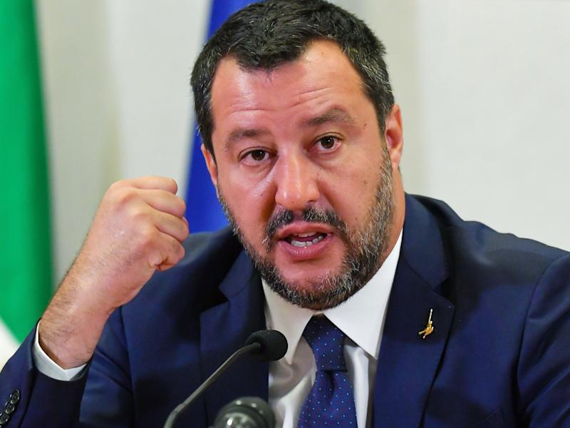 "(Bloomberg) -- Matteo Salvini accused France and Germany of snubbing the European nation most exposed to migration, highlighting divisions within the EU and returning to an issue popular with his supporters as he weighs whether to seek a snap election in Italy.Governments in Paris and Berlin ""cannot decide migration policies and ignore the demands of the most-exposed countries like us and Malta,"" Salvini said in his capacity as Italian interior minister in a statement released by his office on Sunday.""Italy is no longer willing to welcome all immigrants arriving in Europe,"" his rightist League added, criticizing a draft paper drawn up for a meeting of European interior ministers in Paris on Monday on how to handle the flood of migrants from Africa that primarily arrive by boat to Italy and Malta.Salvini will skip the meeting at a time when tensions with his coalition partner, the Five Star Movement, are coming to a head. He's been weighing pulling out of the government in a bid to prompt a new election to capitalize on a surge in popularity partly driven by his hard-line stance on immigration. Hundreds of thousands of immigrants have flooded Italy in recent years and the government estimates it spent 4.3 billion euros ($5 billion) aiding migrants in 2017, while receiving only 77 million euros in EU aid.Interior ministers gathering in Paris will offer to set up a voluntary mechanism to swiftly relocate asylum seekers that are disembarked in Italian and Maltese ports, according to a draft of their communique obtained by Bloomberg. They will also pledge financial and technical assistance to facilitate the swift return of migrants not entitled to asylum protection, according to the statement.On the sidelines of that meeting, French President Emmanuel Macron will hold talks Monday with the heads of the United Nations agencies dealing with migration and with refugees.The pledges failed to satisfy Salvini, who is demanding a more equitable distribution of incoming migrants. Italy and Malta argue that international law, which dictates that those saved at sea should be taken to the nearest safe port, was intended to deal with shipwrecks and other emergencies, and not mass migration, according to a policy paper distributed last week to other EU members and obtained by Bloomberg. Most arriving migrants do not qualify for asylum protection, so won't be eligible for relocation under the plan proposed by some EU countries.The League leader has long denounced EU partners for abandoning Italy to bear the brunt of migrant arrivals from across the Mediterranean, and Salvini's decision to close Italian ports to migrant ships has fueled tensions with his coalition partner, the anti-establishment Five Star led by fellow deputy premier Luigi Di Maio.Russiagate ScandalSalvini and Di Maio may meet on Tuesday in an attempt to avoid the collapse of the government, following clashes over immigration and other issues, including Five Star's backing of Ursula von der Leyen as the new European Commission president, Corriere della Sera reported.The possible meeting increasingly looks like an opportunity to pacify rather than dissolve the ruling coalition, though Salvini insists he will only keep the coalition going if he obtains Five Star's backing for the League's flagship reforms, including tax cuts and stronger powers for regions in his northern stronghold.The two leaders will probably hold talks a day before Prime Minister Giuseppe Conte addresses parliament over reports that a close associate of Salvini's allegedly sought illegal party funding in Moscow. Voting-intention polls show that the League is still the most powerful party in Italy, with little effect so far from the the so-called Russiagate scandal.The League's support was at 35.9% in an Ipsos poll conducted July 16-18, more than twice what the party won in the March 2018 general elections and up from 33.3% in a survey by the same pollster last month. Support for Five Star was little changed from the previous poll at 17.4% and down from 32.7% in last year's elections.(Adds Macron meeting UN agency heads in sixth paragrpah.)\--With assistance from Gregory Viscusi and Lars Paulsson.To contact the reporters on this story: Lorenzo Totaro in Rome at ltotaro@bloomberg.net;Nikos Chrysoloras in Brussels at nchrysoloras@bloomberg.net;John Follain in Rome at jfollain2@bloomberg.netTo contact the editors responsible for this story: Fergal O'Brien at fobrien@bloomberg.net, Andrew Davis, Raymond ColittFor more articles like this, please visit us at bloomberg.com©2019 Bloomberg L.P."