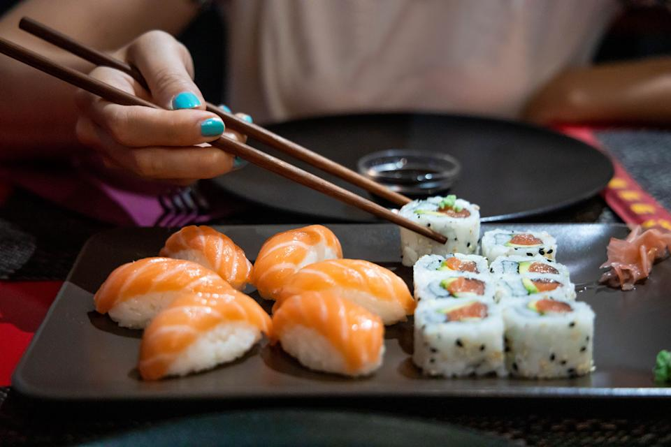 Leftover sushi is a big no-no for a lot of people. (Photo: Artur Debat via Getty Images)