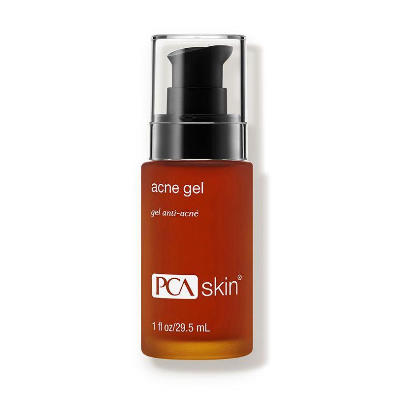 """<p>This gel treatment uses two different acids (salicylic and mandelic) to reduce excess oil production and fade dark spots for brighter and clearer skin.</p><p><strong>PCA Skin </strong>Acne Gel, $50, dermstore.com.</p><p><a class=""""link rapid-noclick-resp"""" href=""""https://go.redirectingat.com?id=74968X1596630&url=https%3A%2F%2Fwww.dermstore.com%2Fproduct_Acne%2BGel_12045.htm&sref=https%3A%2F%2Fwww.harpersbazaar.com%2Fbeauty%2Fskin-care%2Fg11653081%2Fbest-acne-products%2F"""" rel=""""nofollow noopener"""" target=""""_blank"""" data-ylk=""""slk:SHOP"""">SHOP</a><br></p>"""