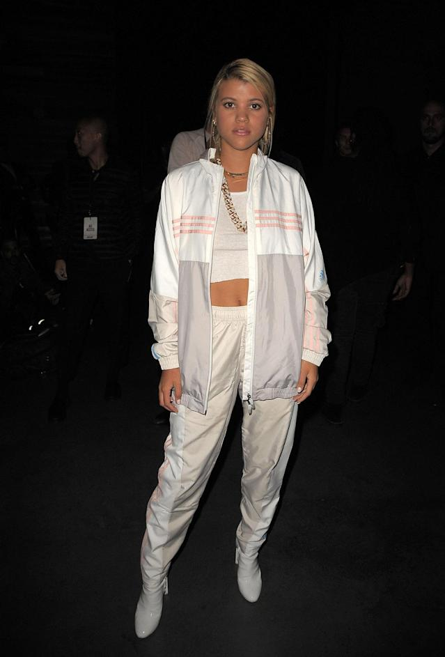 <p>Sofia Richie attends Kith Sport fashion show during New York Fashion Week on September 7, 2017 in New York City. (Photo by Chance Yeh/Getty Images) </p>